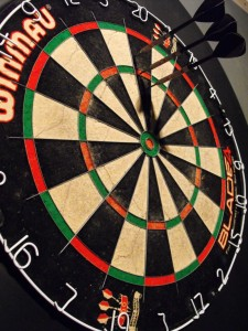 Darts at Bar Red